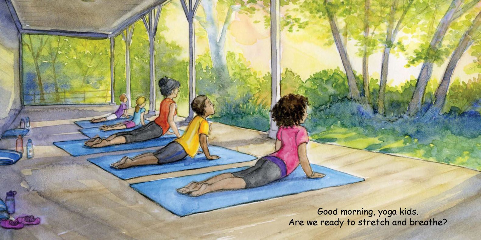 Good Night Yoga for toddlers by Diane Kovanda